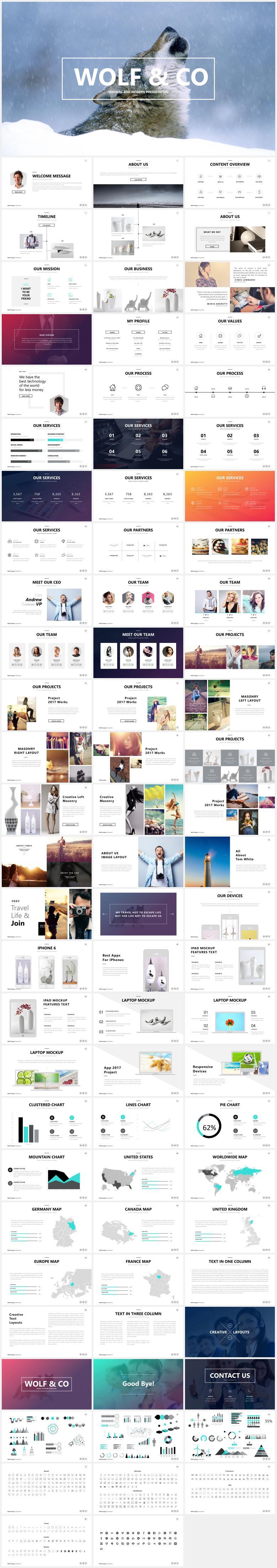 时尚欧美公司简介 企业介绍 团队介绍PPT模板