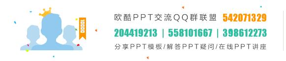 欧酷PPT交流QQ群联盟