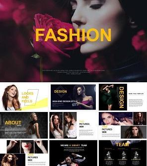 时尚设计工作室公司介绍PPT下载