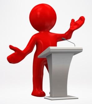 3D小人演讲讲课 透明背景PPT图片素材下载