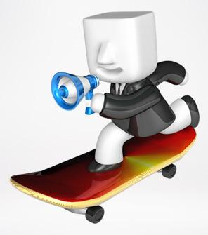 商务3D小人 透明背景PPT图片素材下载